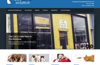 Cat Care Initiative Website