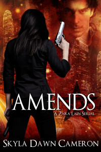 For this cover of mine, it was more important to me that she carry a gun rather than what type of gun.